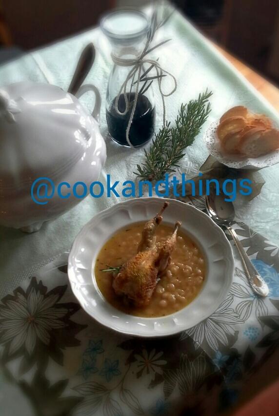 Cook things lugar para apasionados de la cocina - Alubias con codornices ...